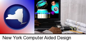 a cad (computer-aided design) project in New York, NY
